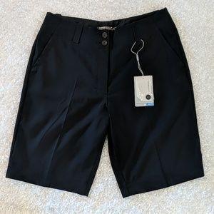 Blue Nike Dri-Fit Golf Bermuda Shorts